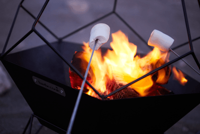 What are the advantages of a Jura fire basket?