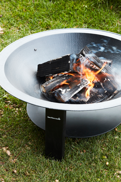 What are the advantages of the Modern 75 fire bowl?