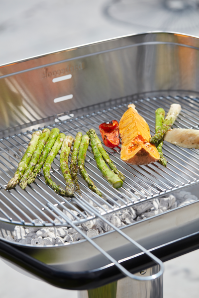 Specifications of the Loewy 55 SST charcoal BBQ