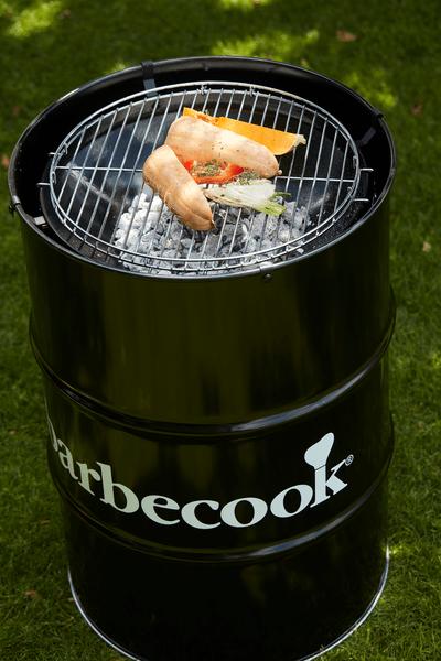 Barbecue Edson au charbon de bois Noir