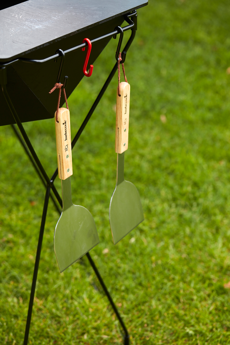 What are the advantages of the Rila wood BBQ?