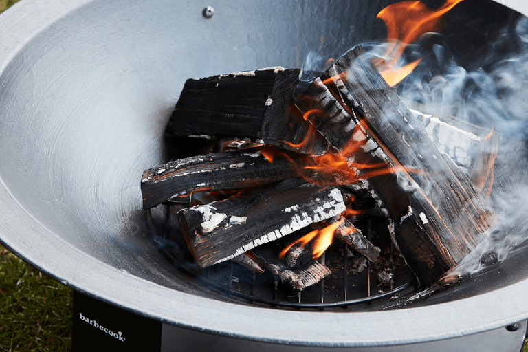 How does a Modern 75 fire bowl work?