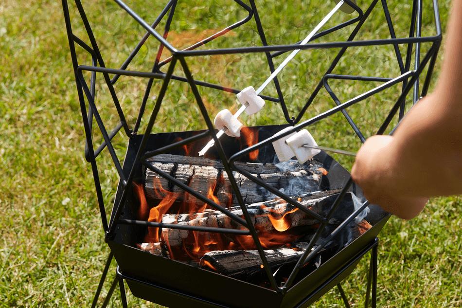 Wat zijn de voordelen van de Sierra vuurkorf?