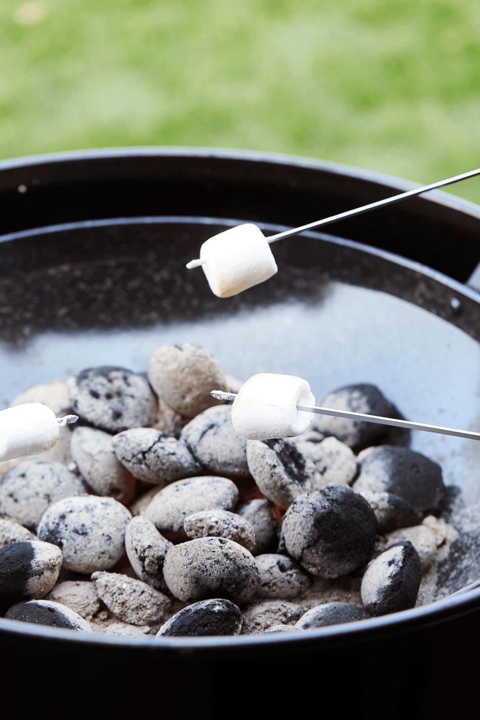 Wat zijn de voordelen van een Edson houtskool BBQ?