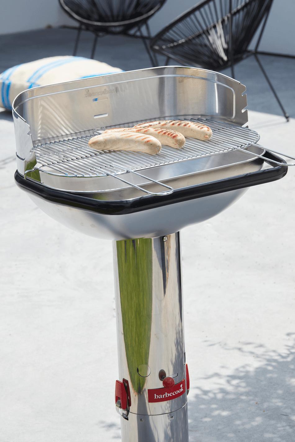 Hoe werkt een Loewy 55 SST houtskool BBQ?