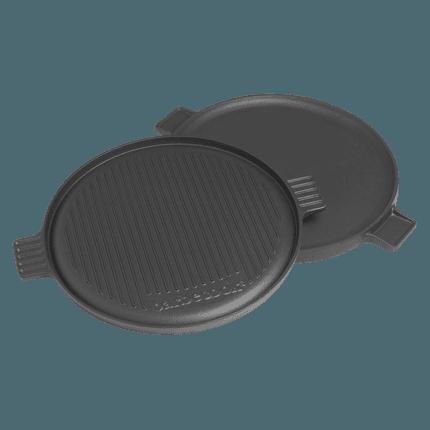 Plaque de contact pour barbecue au charbon