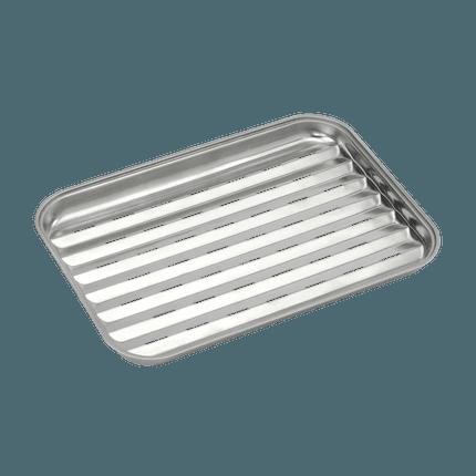 Herbruikbare grillpan uit rvs