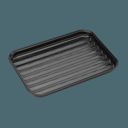 Herbruikbare grillpan uit email