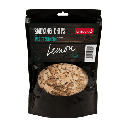 Smoker chips lemon mediterranean