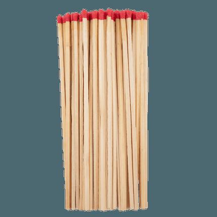Set mit 40 langen Streichhölzern
