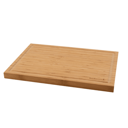 Bamboo cutting board with groove 50x35x3cm