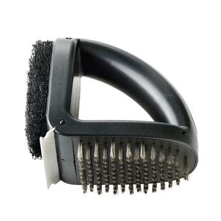 Premium brosse de nettoyage 3-en-1 noir
