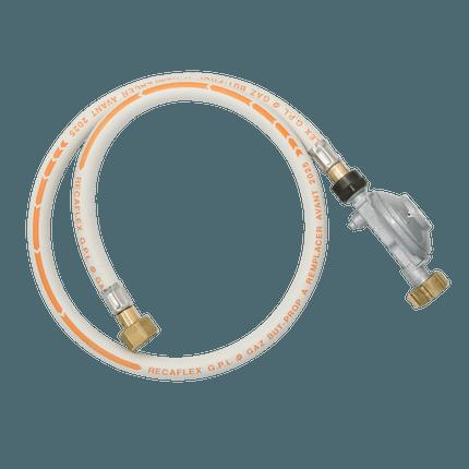 Gas regulator France with hose 37mbar
