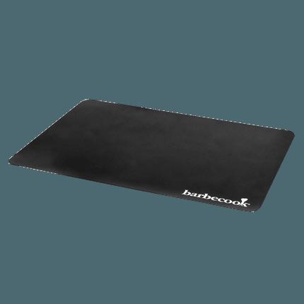 Plastic floor mat black