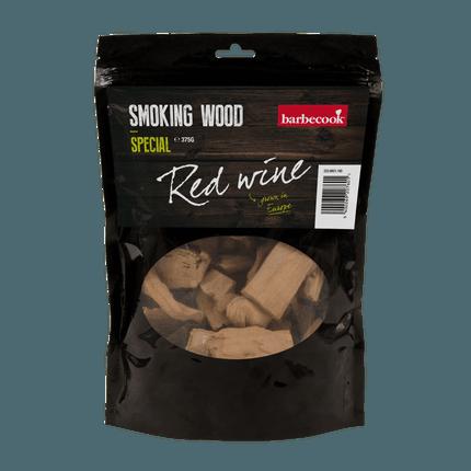 Holz chuncks Rotwein