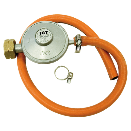 Gas regulator The Netherlands with hose 30mbar