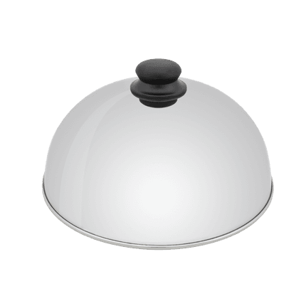 Olivia stainless steel plancha dome Ø 30cm