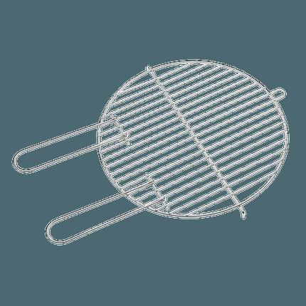 Braadrooster voor Basic en Loewy 40 ø 40cm