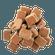 Bag of 72 lighter cubes FSC