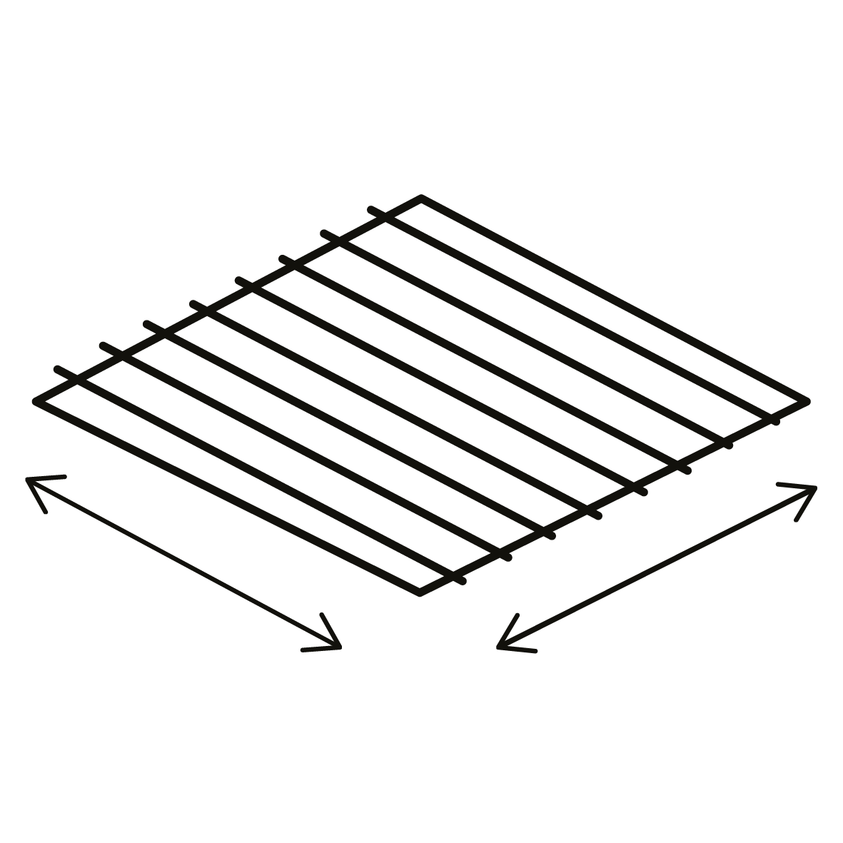 Surface du grill